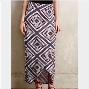 | Maeve | Anthro Maina Maxi Tulip Skirt M